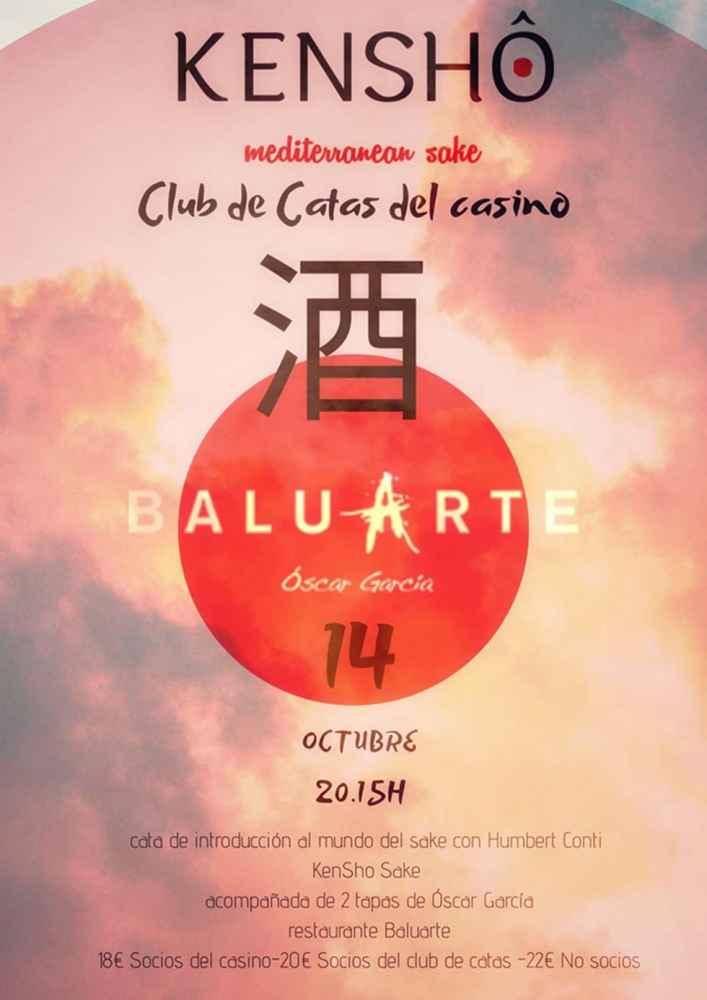 Baluarte ofrece cata para introducirse en el mundo del sake