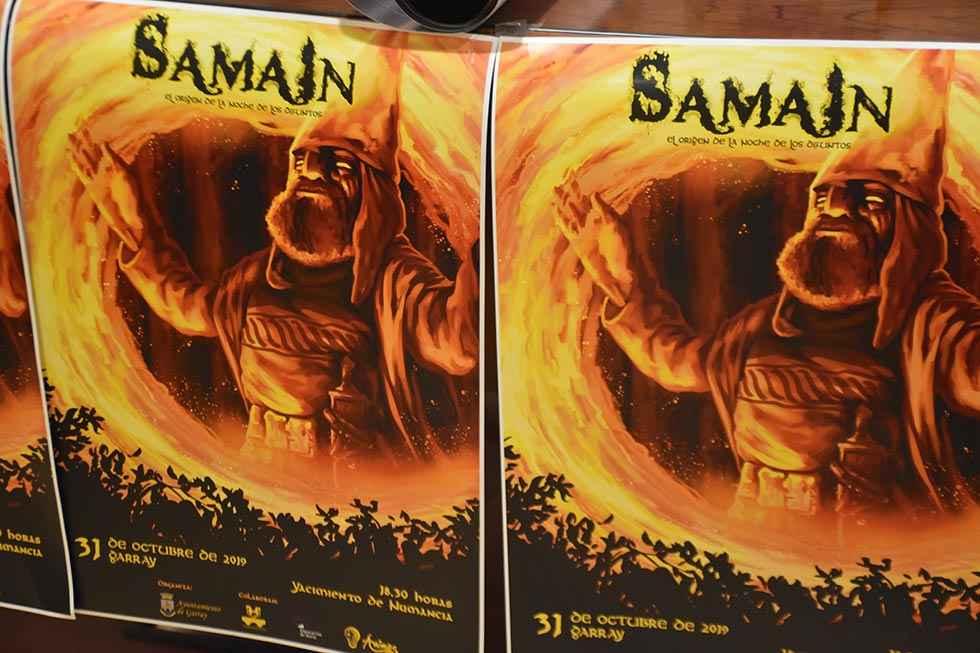 El Samaín se celebra en el graderío de la Hoya