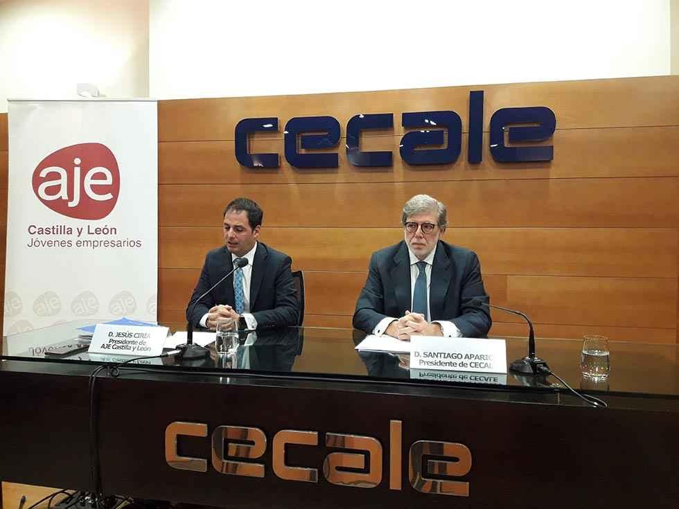 AJE Castilla y León da voz a los jóvenes empresarios