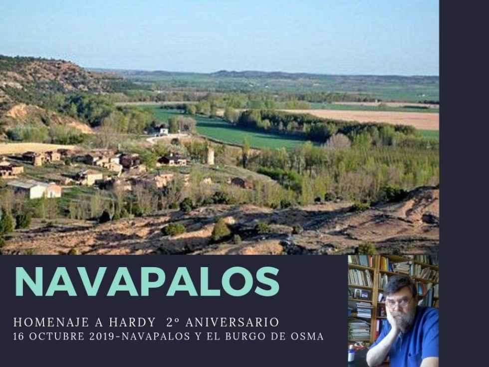 Navapalos recuerda a Erhard Rohmer, impulsor de su arquitectura tradicional