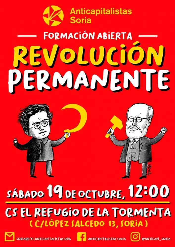 """Formación sobre """"Revolución permanente"""" en curso de Anticapitalistas"""