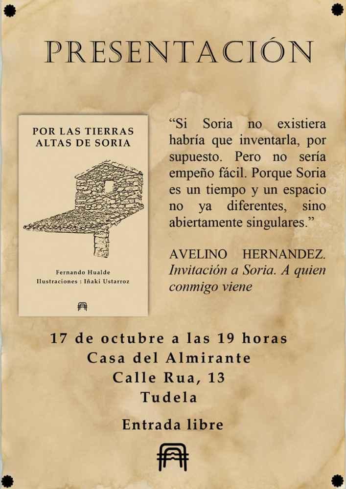 """Presentación del libro """"Por las Tierras Altas sorianas"""""""