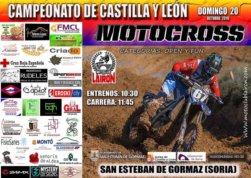 """Nueva prueba de moto-cross en el circuito """"Cabeza Perro"""""""