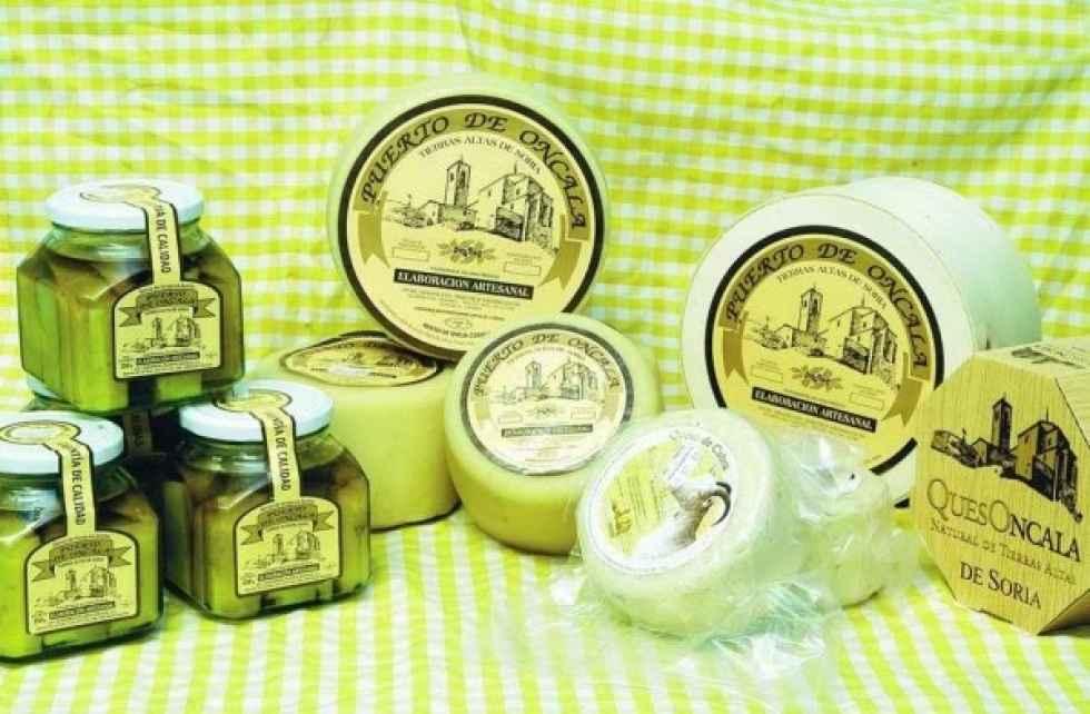 Tres quesos de Oncala, reconocidos en concurso internacional
