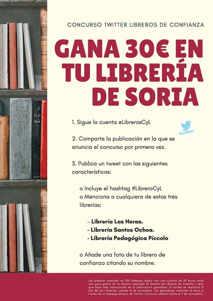 "Tres librerias participan en concurso ""Libreros de confianza"""