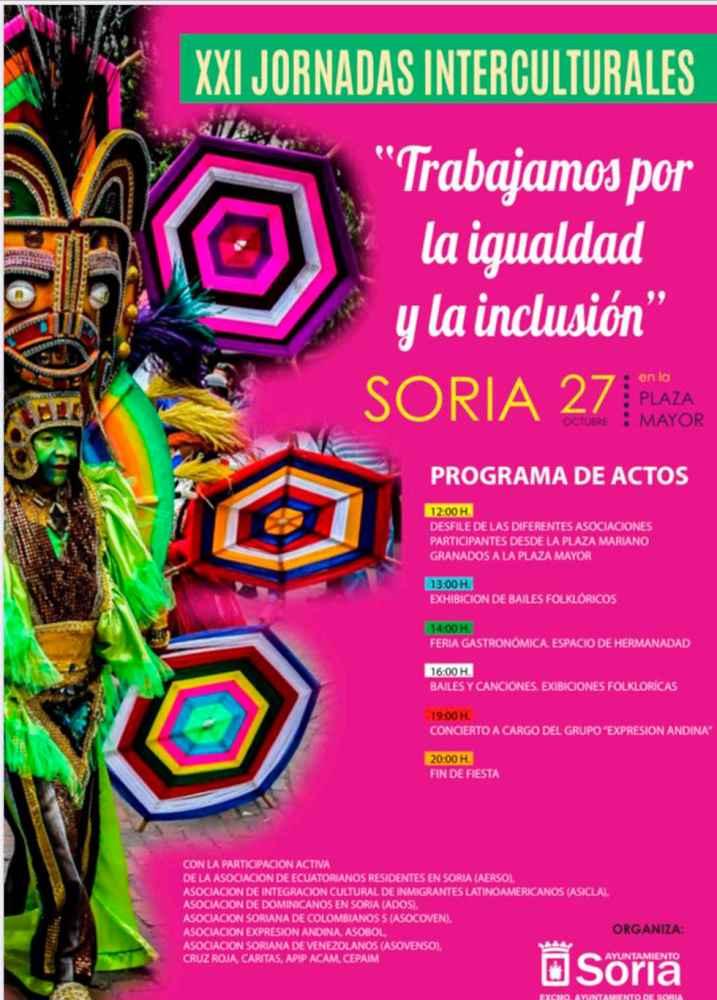 XXI Jornadas Interculturales en la plaza Mayor