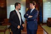 Mañueco y Tudanca mantienen su primera reunión de la legislatura