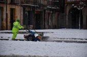 El Ayuntamiento se prepara para hielo y nieve en calles
