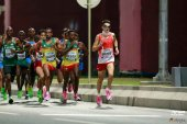 La RFEA destaca el brillante papel de Dani Mateo en el maratón de Doha
