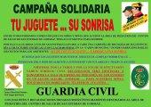 La Guardia Civil recoge juguetes en San Esteban de Gormaz