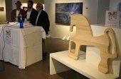Nueve artistas personalizan el Caballo de Soria