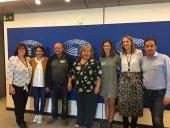 La Red SSPA se reúne con eurodiputados por la despoblación