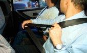 Tráfico detecta a 46 personas sin cinturón de seguridad