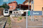 Las estaciones del Adif en Soria, sin