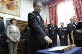 Toma de posesión del nuevo comisario jefe de la Policía Nacional