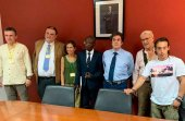 Delegación de la UVa y Tierra Sin Males, en Guinea Bissau