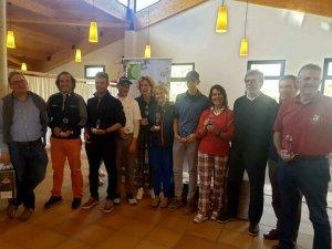 Ganadores del torneo de golf de FOES