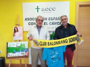 El BM Soria colabora con el VII Camino contra el Cáncer