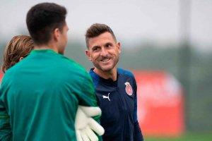 El ex-rojillo Juan Carlos Moreno debuta como entrenador en LFP