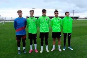 Cinco numantinos entrenan con selecciones de Castilla y León