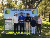 Los profesionales del golf regresan al Golf-Soria