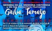 Dos exposiciones abren Semana de la Memoria Histórica