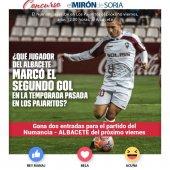 Gana dos entradas para ver el Numancia-Albacete