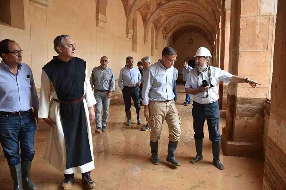 Huerta recupera el entorno del monasterio cisterciense