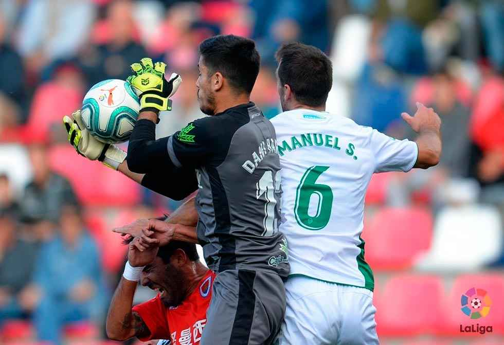 Dani Barrio, el guardameta menos goleado de Segunda