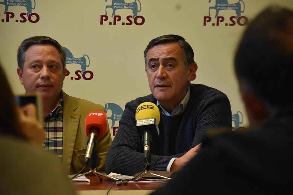 La PPSo quiere ser la voz de Soria en el Parlamento español
