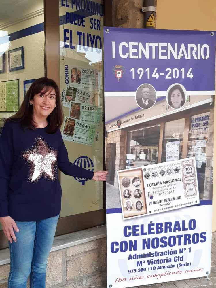 La Administración número 1 de Almazán, un siglo dando suerte