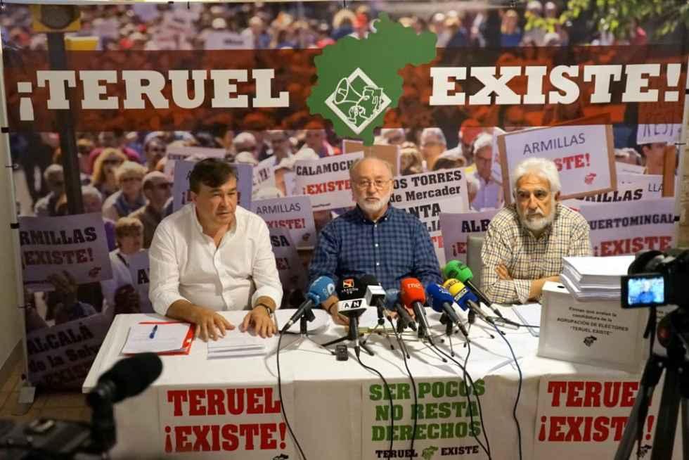 Teruel Existe consigue un escaño en el Parlamento