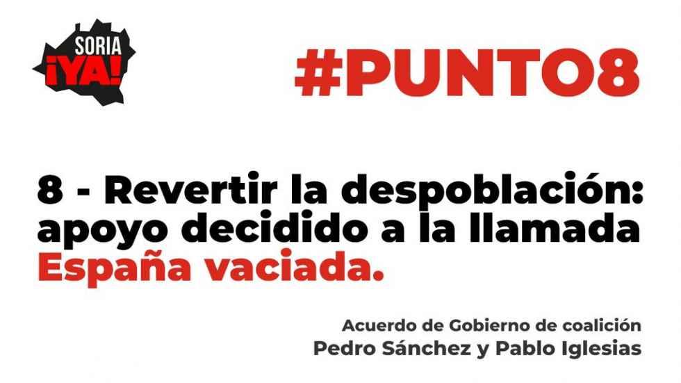 Soria ¡Ya! pide que compromiso con despoblación no sea papel mojado