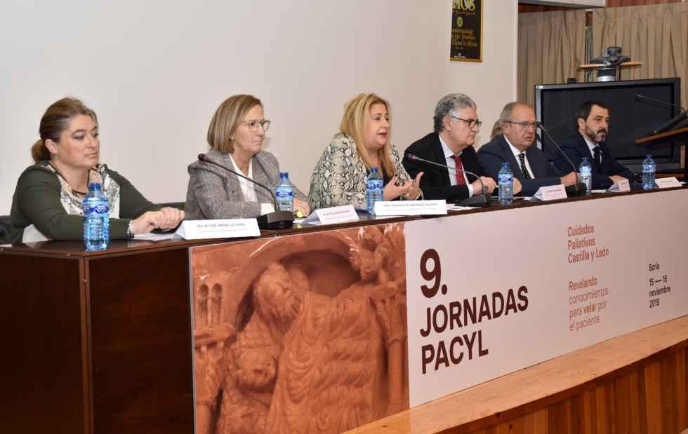 Soria acoge las IX Jornadas de Cuidados Paliativos de la región