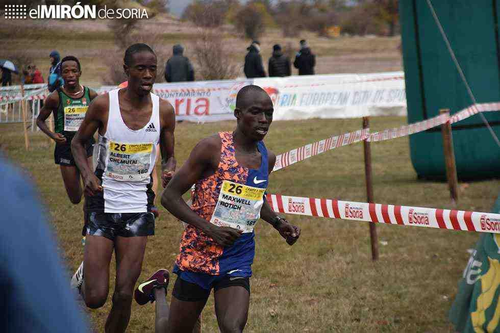 El ugandés Maxwell Rotich puede con los favoritos
