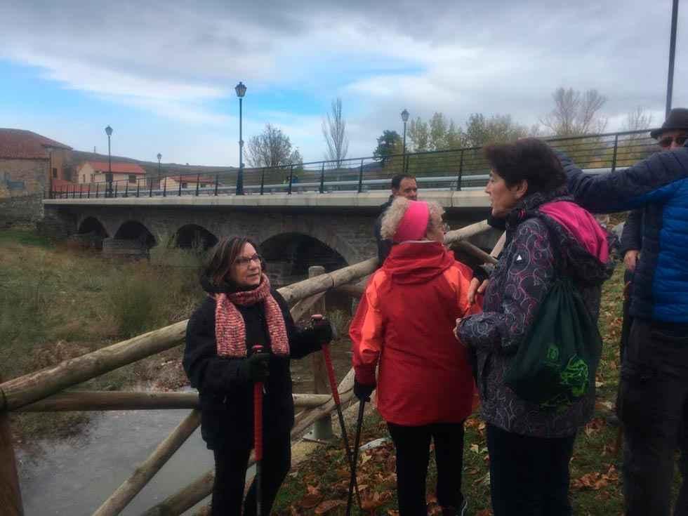 Villar del Río celebra su primera ruta del Agua