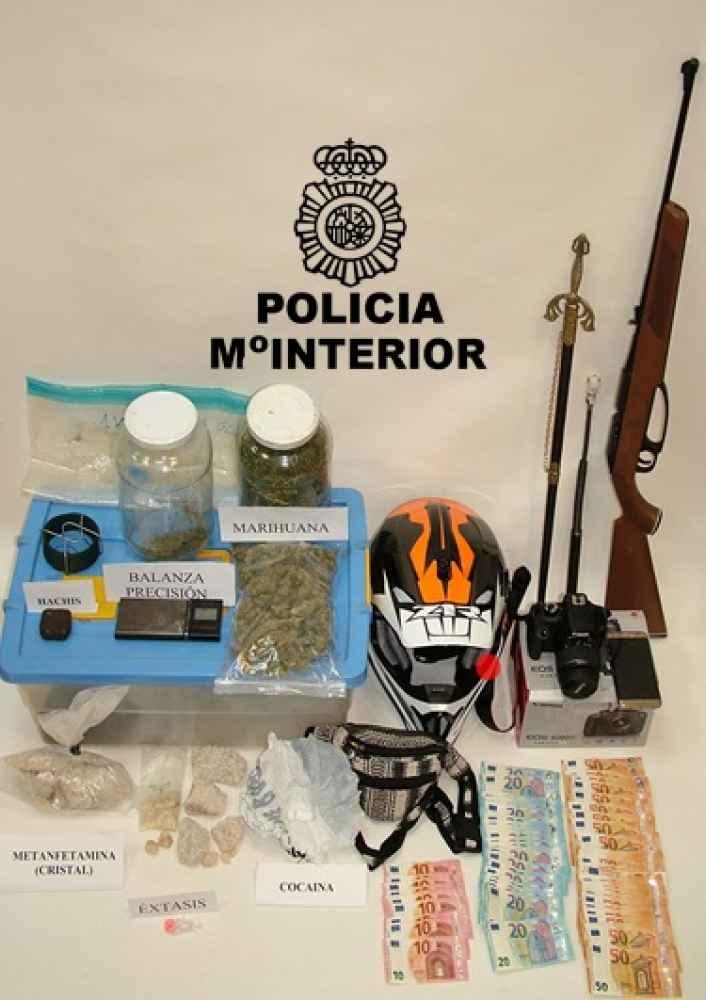 Ingresan en prisión por trafico de estupefacientes en Soria