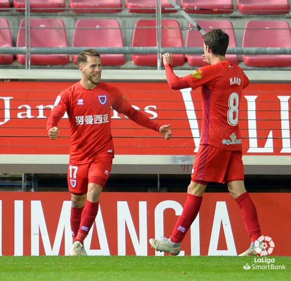 El Numancia quiere ganar en confianza en Almería