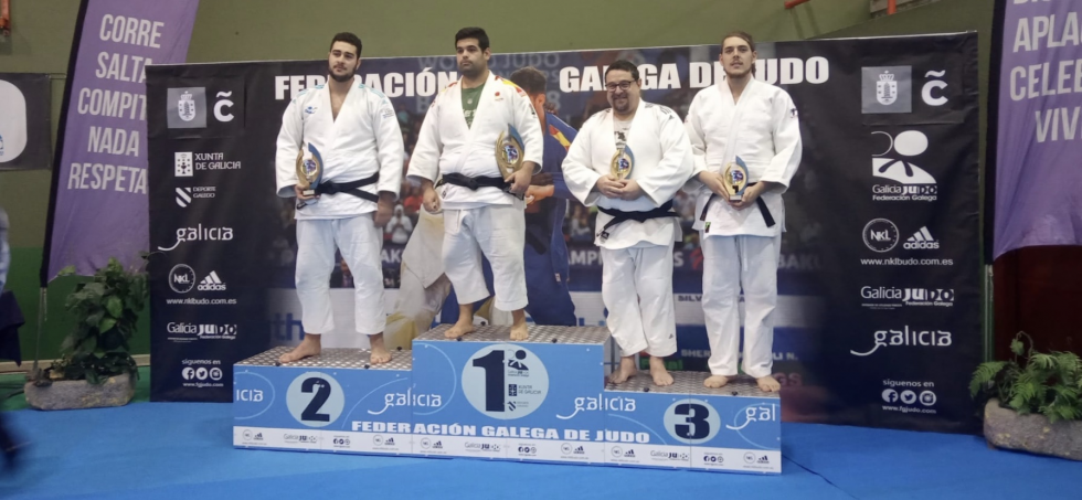 El judoka Jorge del Vigo, bronce en el sector