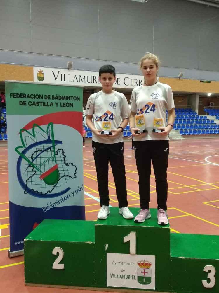 Buenos resultados del Club Bádminton Soria