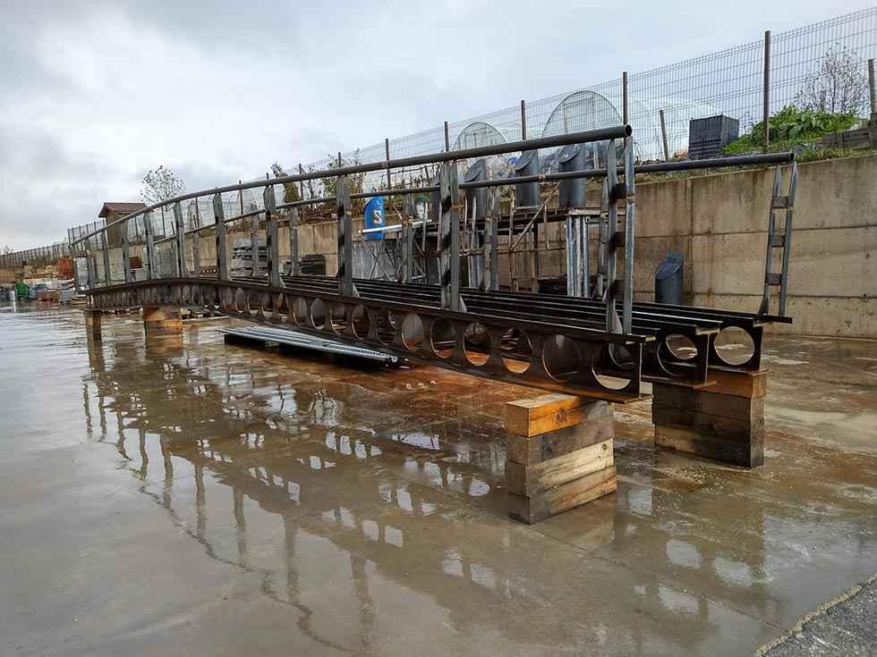 El almacén construye pasarelas más sólidas para el Sotoplaya