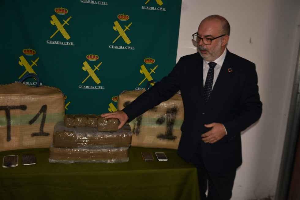 La Guardia Civil intercepta 92 kilos de hachís en Matalebreras