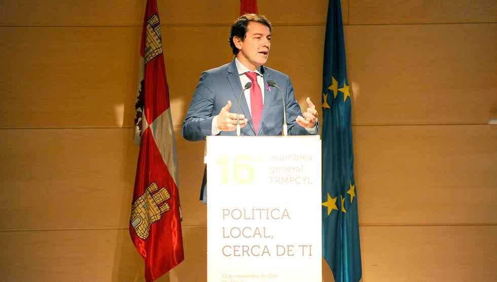 Mañueco pide un Gobierno en Madrid que dé estabilidad