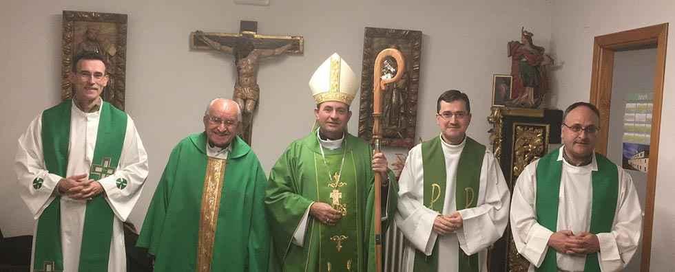 Homenaje al presbitero Antonio Mínguez
