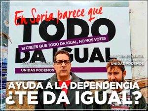 Unidas Podemos exige aplicación efectiva de Ley de Dependencia