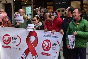 """Campaña """"pacífica"""" de UGT por las 35 horas semanales"""