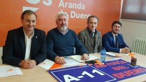 Cs denuncia las mentiras de PSOE y PP en autovía del Duero