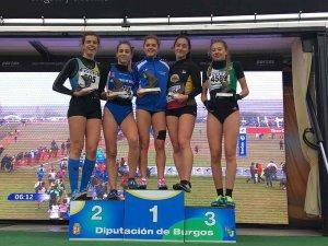 Silvia Ondiviela gana el Cross de Atapuerca en categoria sub-18