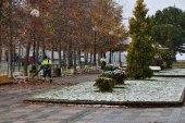 El Plan de nieve moviliza a 70 trabajadores municipales