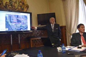 Presentación del aeroparque industrial de Garray - fotos